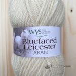 100% Bluefaced Leicester Aran – Snowdrop 010