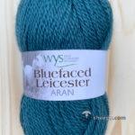 100% Bluefaced Leicester Aran – Teal 134