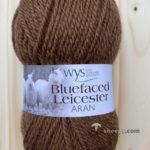 100% Bluefaced Leicester Aran – Mocha 662