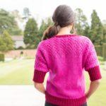 Wensleydale Sweater Tourmaline Red Jasper