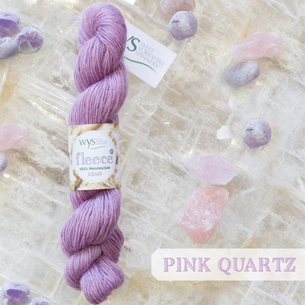 Wensleydale Gems Pink quartz